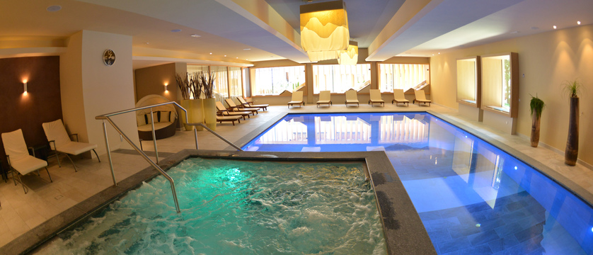 Hotel Diamant, San Cassiano, Italy -  Indoor Pool.JPG
